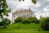 Gamla slottet på kullen — Stockfoto