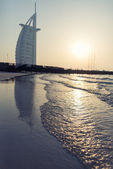 Luxury hotel Burj Al Arab — Stock Photo