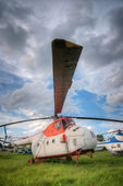 Old helicopter — Stock Photo