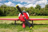 Vecchio aeroplano storico — Foto Stock
