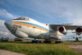 Large cargo plane — Stock Photo