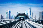 Metropolitana di dubai — Foto Stock