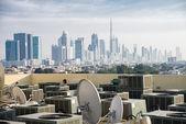 Panoramic view of Dubai — Stock Photo