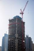 Yeni bir bina i̇nşaatı — Stok fotoğraf