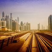 Metrô de Dubai — Fotografia Stock