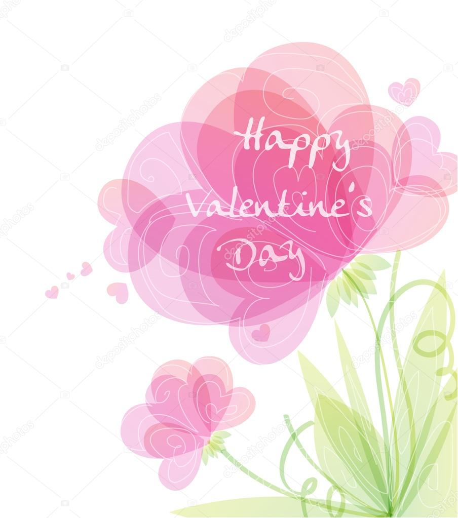 Vector illustrated Valentines Day Design — Stock Vector #19227145