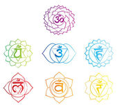 Simbolo di Chakra — Vettoriale Stock