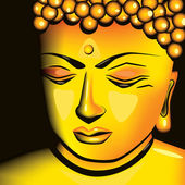 Buddha — Stock Vector