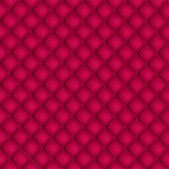 Red quilted background pattern — Stock Vector