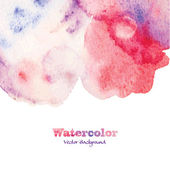 Abstracte aquarel patroon — Stockvector
