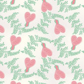 Seamless Valentines Day pattern — Vector de stock