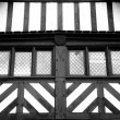 Tudor Abstract Windows — Stock Photo