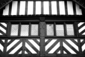 Tudor windows abstratas — Foto Stock