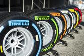 Pirelli Tyres — Stock Photo