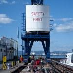 Dockyard Crane (rear) — Stock Photo #8123697