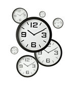 Clock office time business — Stock Photo