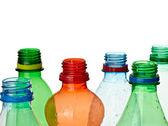 Empty used trash bottle ecology environment — Stock Photo