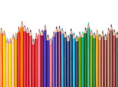 Color pencil draw art school educaation — Stock Photo
