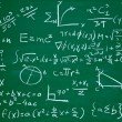 Math formulas on school blackboard education — Stock Photo #13422019