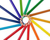 Crayon de couleur dessiner art school educaation — Photo