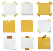 Note paper message label business — Stock Photo
