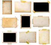 Antigua postal de foto — Foto de Stock