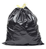 Garbage bag trash waste — Foto Stock