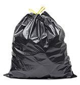 Odpadky pytle odpad koše — Stock fotografie