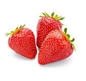Comida de fruta fresa — Foto de Stock