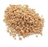 Soya flakes diet vegetarian food — Stock Photo