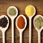Seasoning spice food ingredients — Stock Photo #13591595