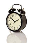 Campana reloj tiempo plazo mañana despiertas — Foto de Stock