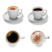 Coffee cup drink — Stock Photo