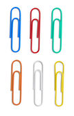 Push pin thumbtack paper clip office business — Stock Photo