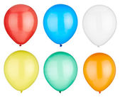 Balloon festive birthday decoration — Stock Photo