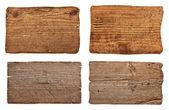Letrero de madera del fondo mensaje — Foto de Stock
