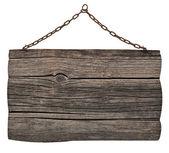 Mensagem de plano de fundo do sinal de madeira — Fotografia Stock