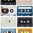 Music audio tape vintage — Stock Photo #27647411