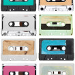 Music audio tape vintage — Stockfoto