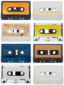 Music audio tape vintage — Stock fotografie