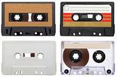 Music audio tape vintage — Stock Photo