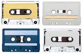 音乐录音磁带复古 — 图库照片