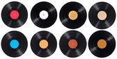 Vinyl vinylskiva spela musik vintage — Stockfoto