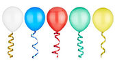 Balloon festive birthday toy — Stok fotoğraf