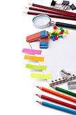 Schulbildung liefert elemente — Stockfoto