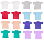Tshirt t shirt template — Stock Photo