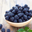 Stock Photo: Bramble fruit healthy food