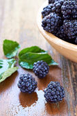 Bramble fruit healthy food — Stock Photo
