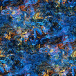 Abstract seamless texture with blue stains — Stock Photo #13942335
