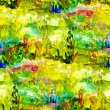 Macro seamless texture africa oil painting — Stock Photo